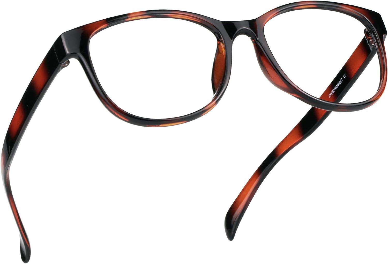 LifeArt Blue Light Blocking Glasses, Anti Eyestrain, Computer Reading Glasses, Gaming Glasses, TV Glasses for Women Men, Anti UV, Anti Glare (Tortoise, No Magnification)
