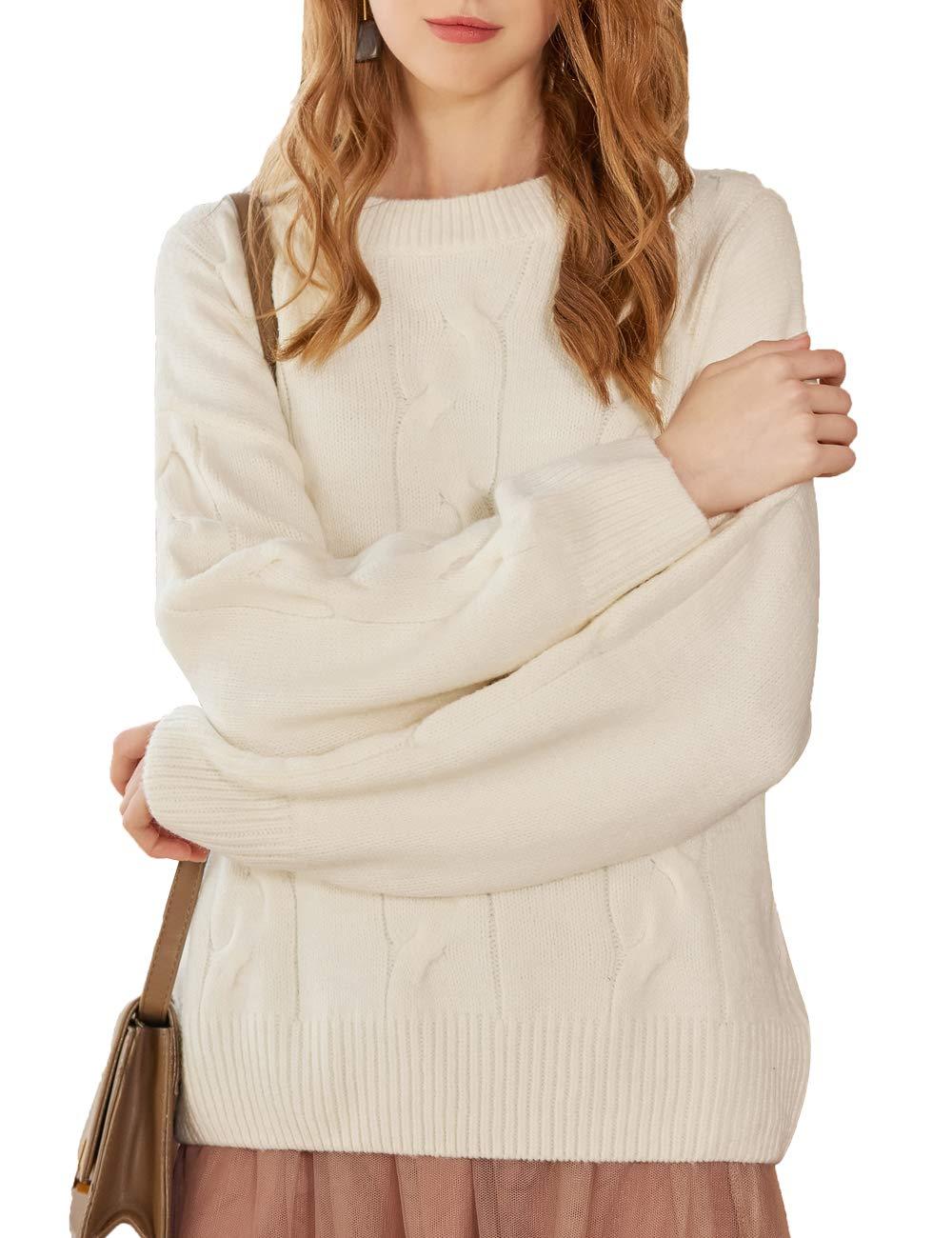 Secchic Short Sweater (White, Small)