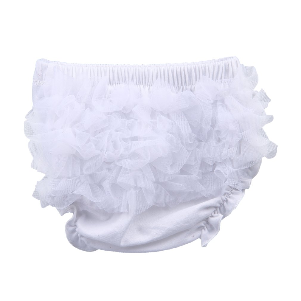 La Vogue Baby Girls Boys Ruffle Pants Knickers Bloomers Nappy Cover