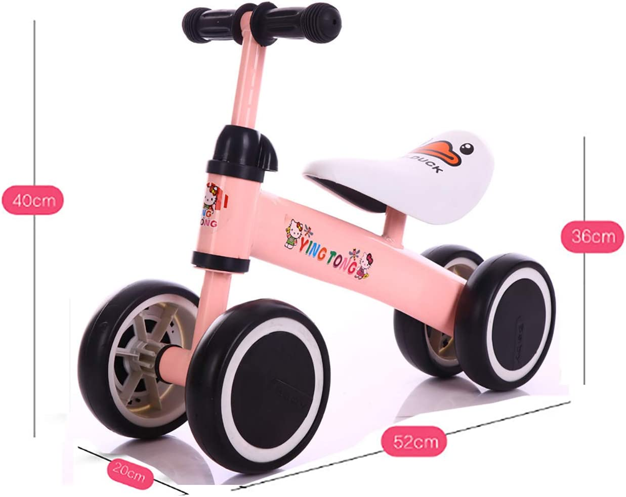 ZXDBK Bicicleta de Equilibrio, Bici sin Pedales Niño Bicicleta de ...