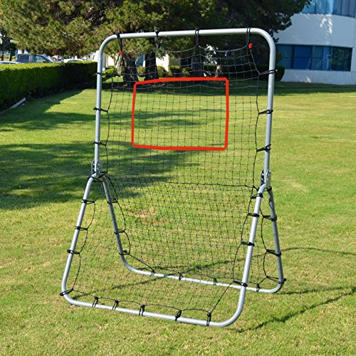 BenefitUSA Multi-Sport Rebounder Pitch Back Training Screen, 48'' x 68'' by BenefitUSA
