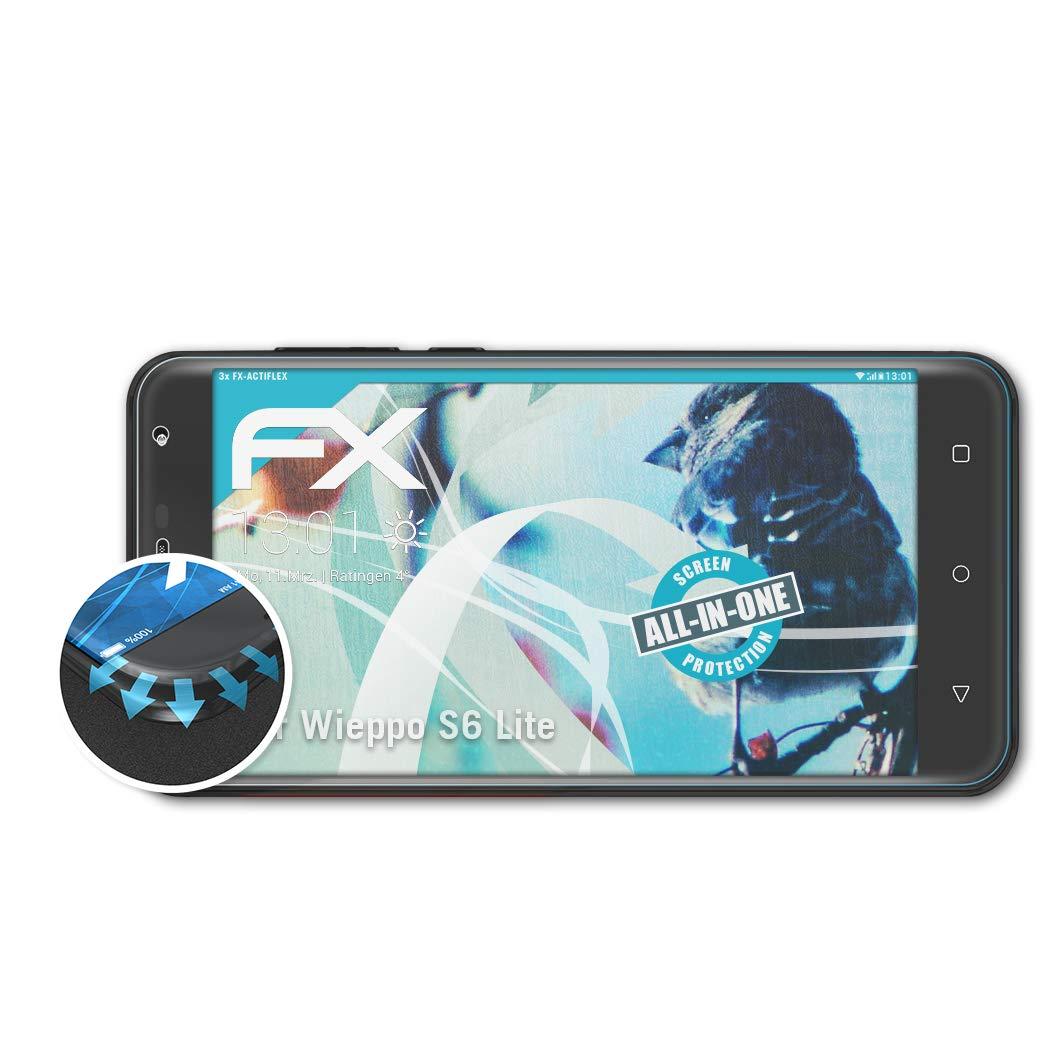 atFoliX Película Protectora Apto para Wieppo S6 Lite Protector ...