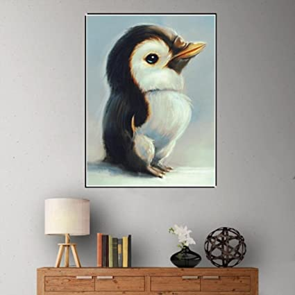 Amazon com: Pandaie -Penguin-5D Diamond Painting Kits Diy
