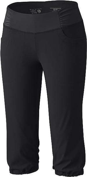 Breathable Black Flexible Water-Repellant X-Large 19 Mountain Hardwear Women/'s Dynama Capri for Trekking Bouldering and Everyday