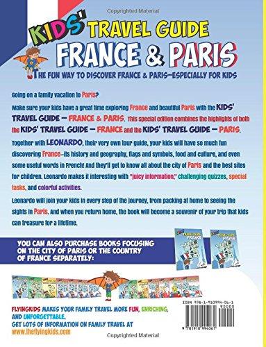 kids travel guide paris the fun way to discover paris especially for kids kids travel guide series