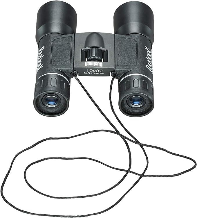 Bushnell Fernglas Powerview Frp Schwarz 10x32 131032 Elektronik
