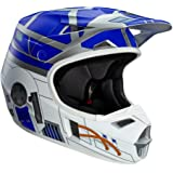 Fox V1 R2D2 Limited Edition Youth Helmet, Distinct Name: R2D2, Gender: Boys, Helmet Category: Offroad, Helmet Type: Offroad Helmets, Primary Color: Blue, Size: Sm, Size Segment: Youth, 17694-010-S