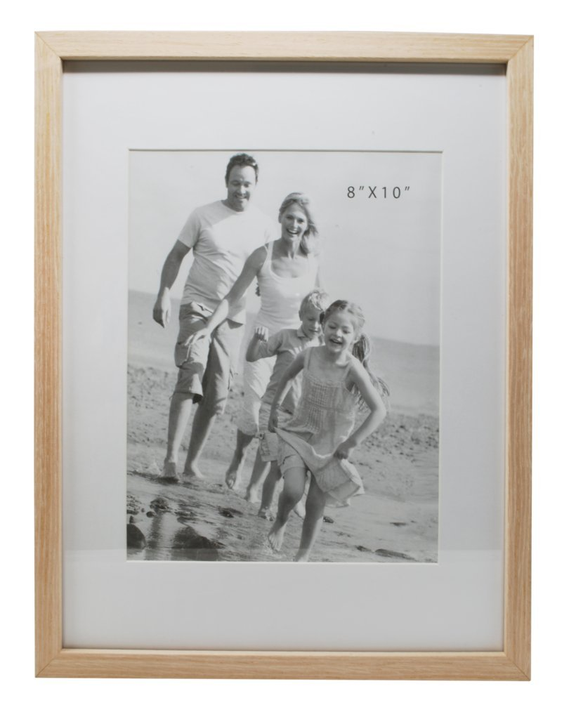 12x15 Beige Photo Picture Frame-Matted to Fit 8x10 inch Photo -Wall Mounting Hooks Included by Momentum Home (Image #2)