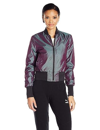 PUMA 57252048-chaqueta de chándal Mujer: Amazon.es: Ropa y accesorios