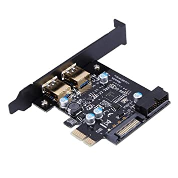 USB 3.0 PCI-E - Tarjeta de expansión PCI Express de 2 ...