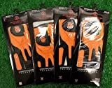 4 Zero Friction Men's LH Universal Fit Golf Gloves - Cincinnati Bengals - Orange