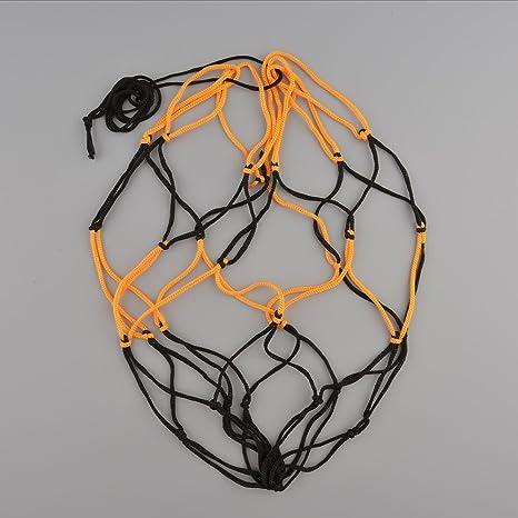 Balón de baloncesto de fútbol de nailon llevar bolsa de red de ...