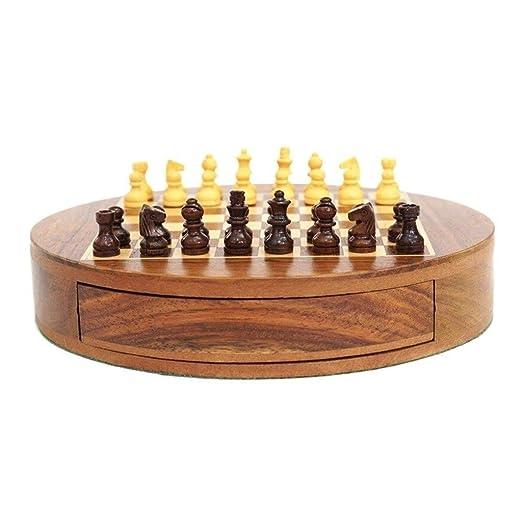 Bzsm Internacional Conjunto Tablero de ajedrez 32 Piezas Juego de ...