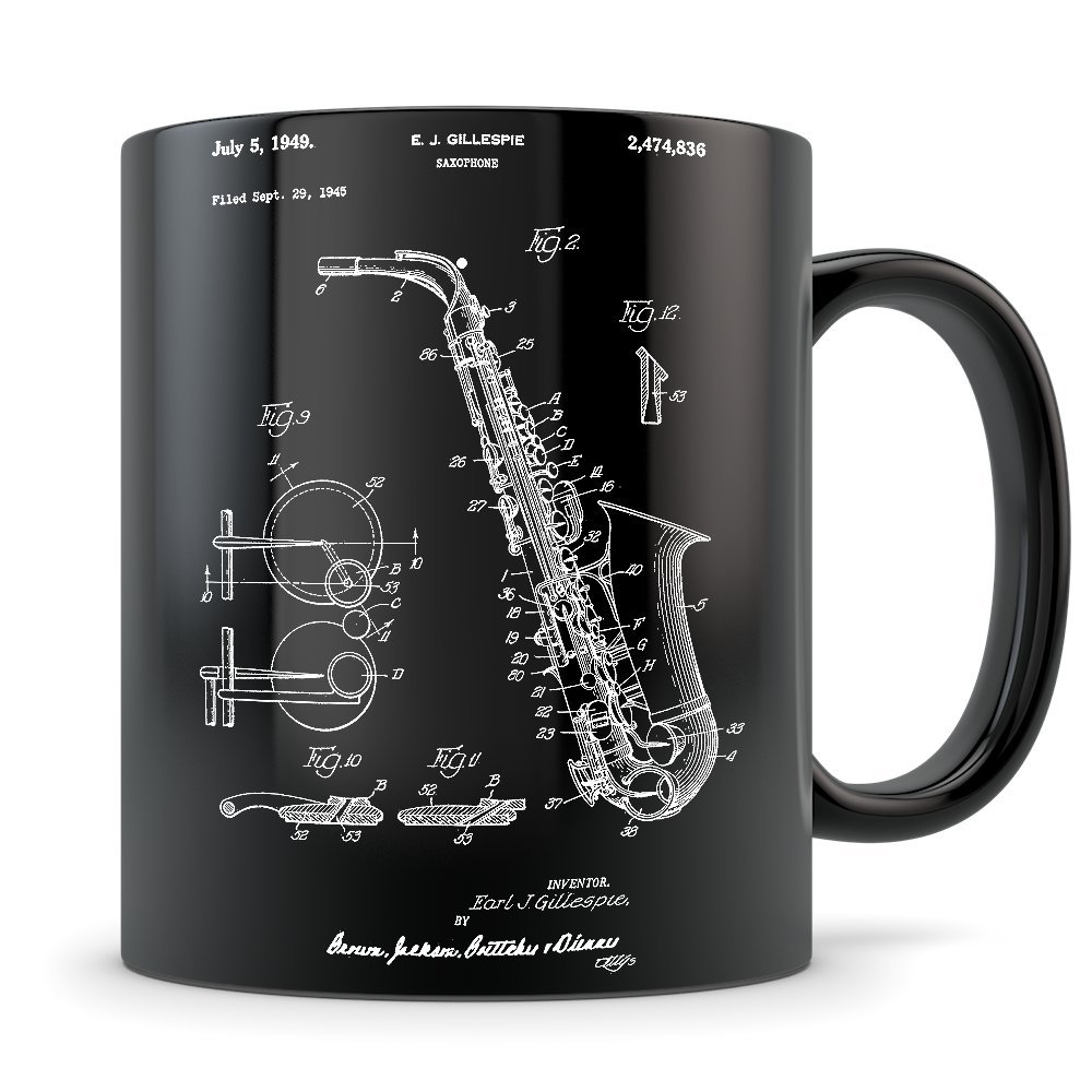 Amazon Com Saxophone Gift For Men And Women Saxophone Mug For