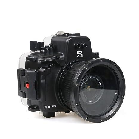 Polaroid carcasa impermeable submarina SLR Dive para la ...