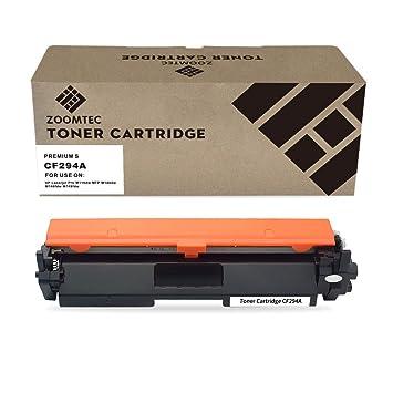 ZOOMTEC Compatible con CF294A 94A Cartucho de tóner para Impresoras HP Laserjet Pro M118dw MFP M148dw M148fdw M149fdw (1 Negro,con Chip)