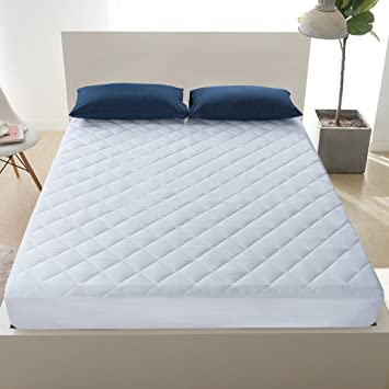 Fitted Sheet Mattress Protector Waterproof Deep Pocket Bed Cover Pad