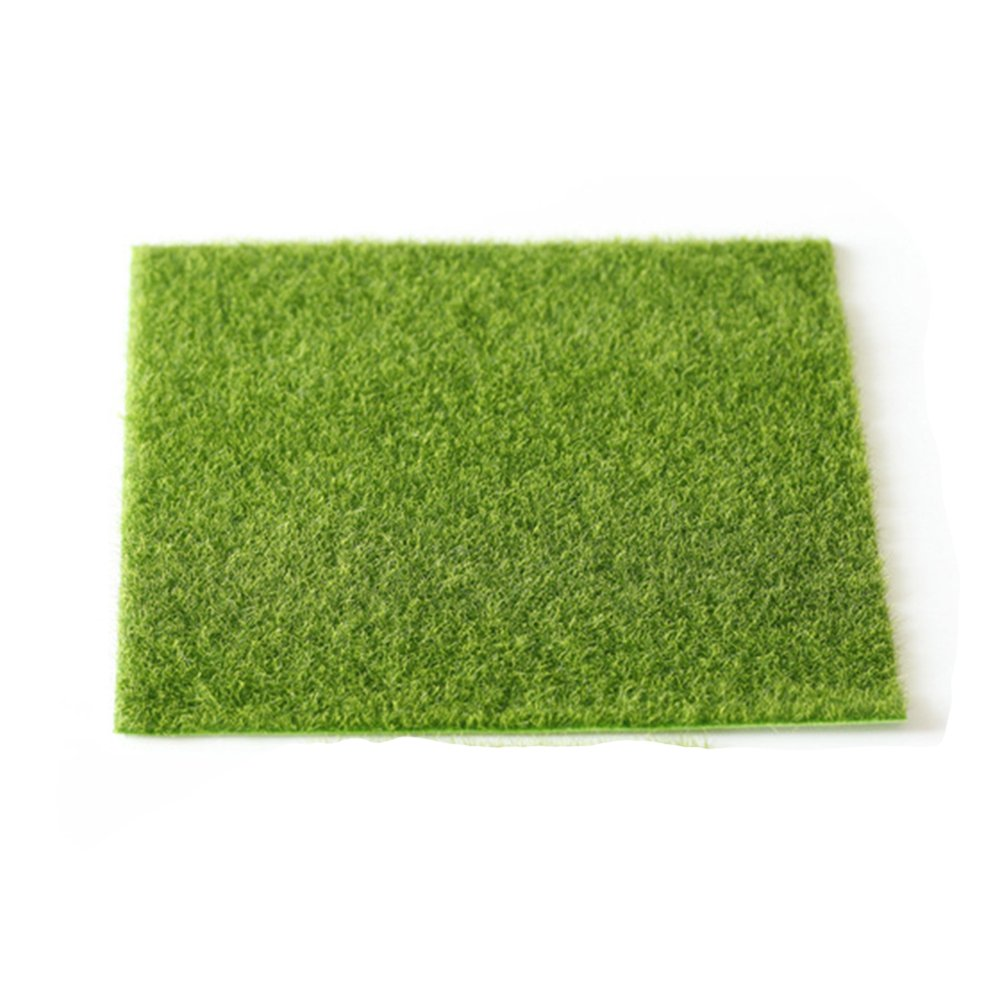 SYXZFZ–giardinaggio erba artificiale erba per DIY simulazione muschio miniatura giardino ornamento Mestiere pot fata casa delle bambole arredamento