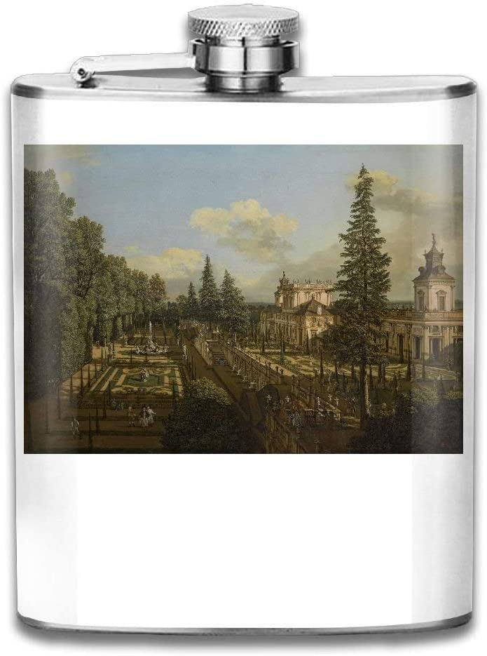 iuitt7rtree The Royal Castle In Warsaw Portable Stainless Steel Flagon Liquor Flask