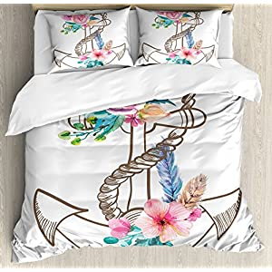 61LN33ZQWpL._SS300_ Nautical Bedding Sets & Nautical Bedspreads