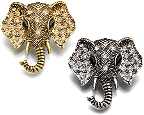 Alloy Elephant Retro Brooch Pin Garment Decoration Fashion Jewelry