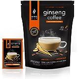 King Cup Caffè al Ginseng con Zucchero di canna - Ginseng Solubile (20 bustine, 20 tazze)