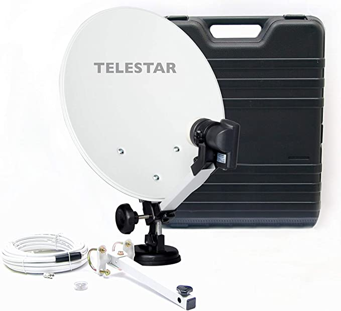 Telestar Camping 35 - Parabólica (diámetro 13.7