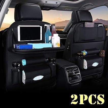 lffopt Car Seat Organiser Kids Car Seat Organiser Car Back Seat Pocket Storage Car Seat Organiser Front Multifunctional Car Seat Organiser