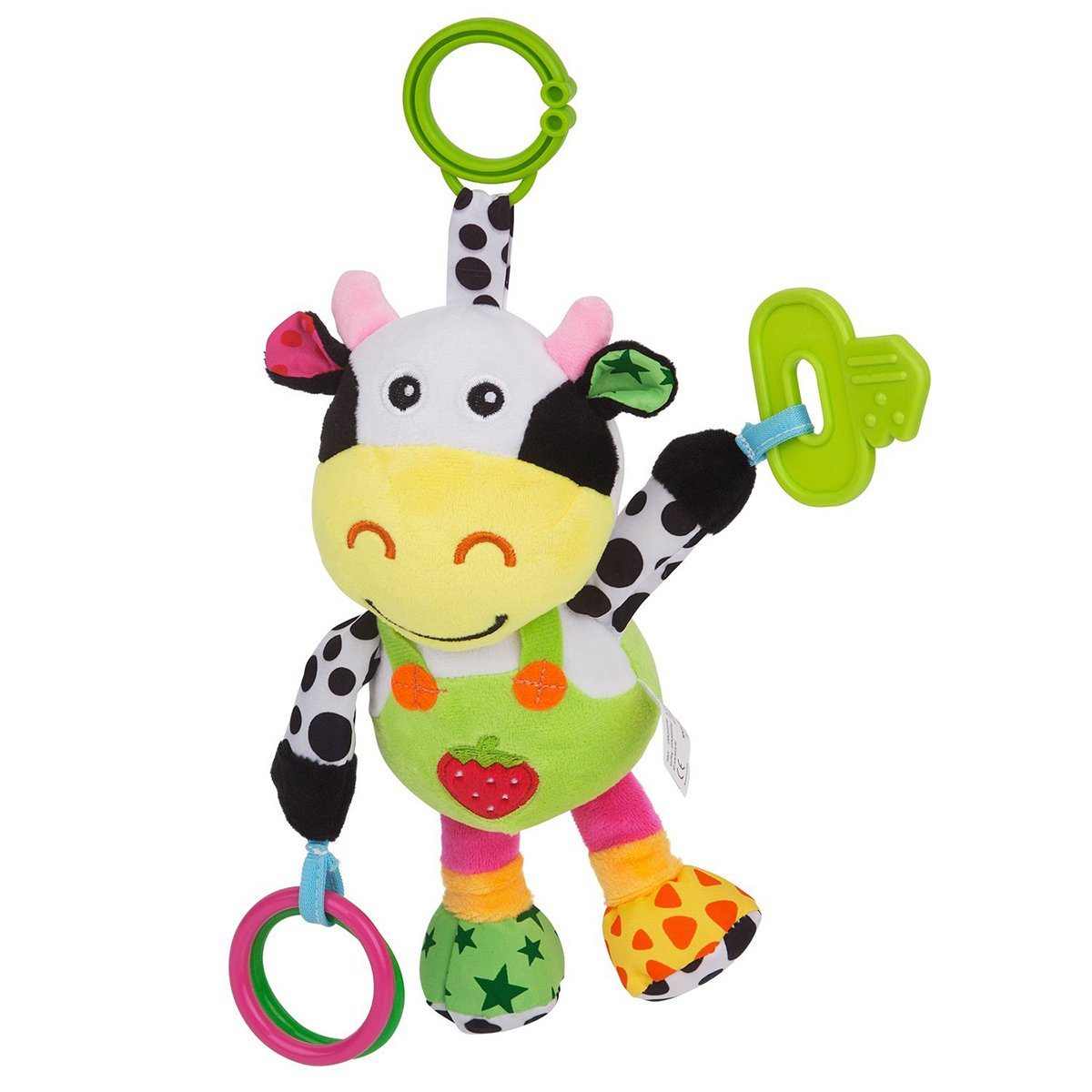 NUOLUX Stroller Car Seat Toy Kids Baby Bed Crib Cot Pram Hanging Musical Toy Pendant (Cow) by NUOLUX (Image #4)