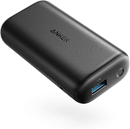 Anker PowerCore 10000 Redux, Ultra Small Power Bank, 10000mAh Portable Charger for iPhone, Samsung Galaxy, and More