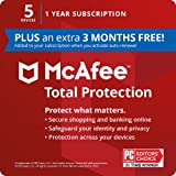 McAfee Total Protection 5 Device [Activation Card by mail]