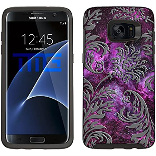 Skin Decal for Otterbox Symmetry Samsung Galaxy S7 Edge Case - Damask Vintage on Nebula Sales