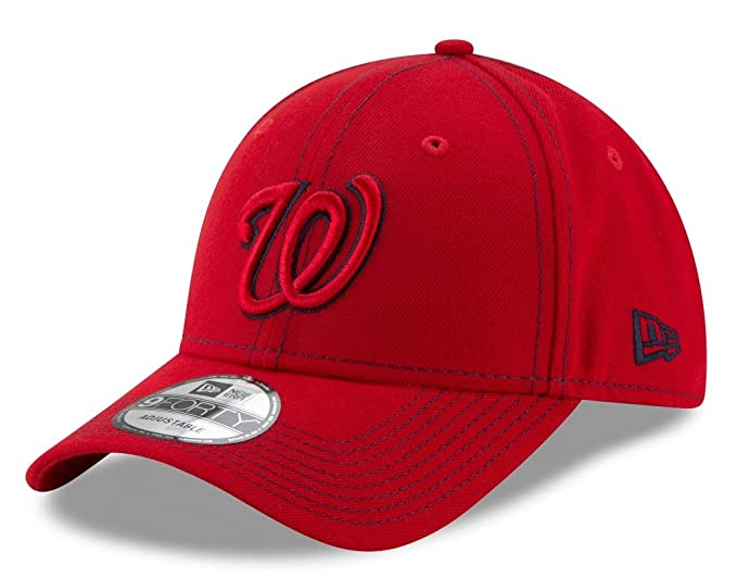 367e219b95b Image Unavailable. Image not available for. Color  Washington Nationals New  Era 9Forty MLB The League Class Adjustable Hat