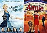 Fun Musical Duo 2-Movie Set: Annie & Sound of Music Live Bundle