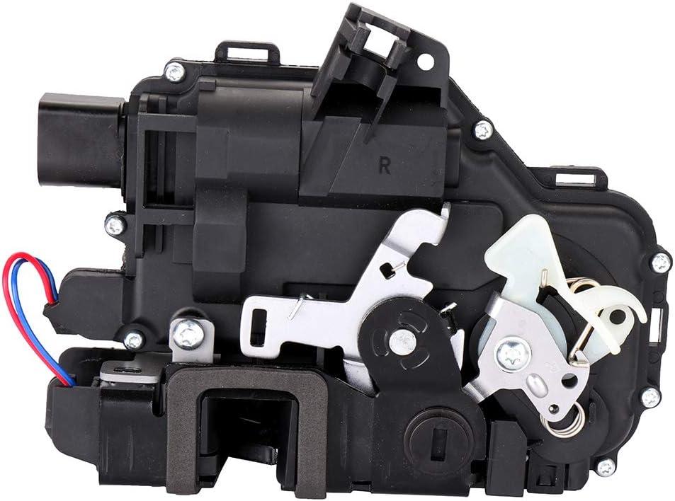 AUTOMUTO 3B4 839 016 3B4 839 016A Rear Passenger Side Door Lock Actuator Fits for 1999-2012 Volkswagen