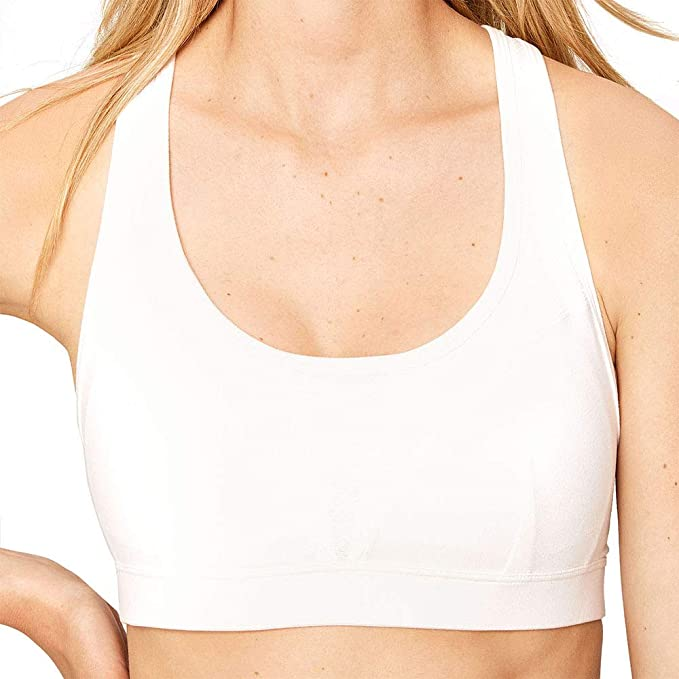 Lolë Luzina D, Sujetador Deportivo para Mujer, Blanco (White W101) X-