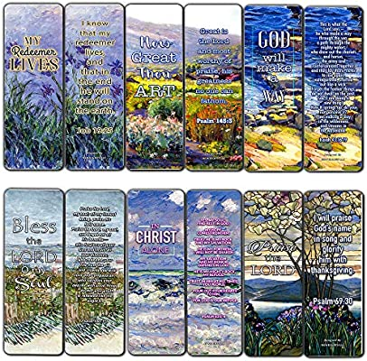 Christian Bookmarks Cards - in Christ Alone (30-Pack) - Gift