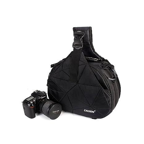 ivotre Casual DSLR SLR Bolsa de la cámara para Nikon Canon ...