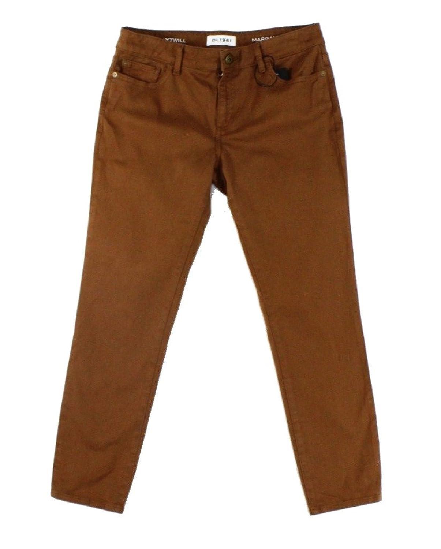DL1961 Brown Rust Women Five Pocket Slim Skinny Ankle Jeans