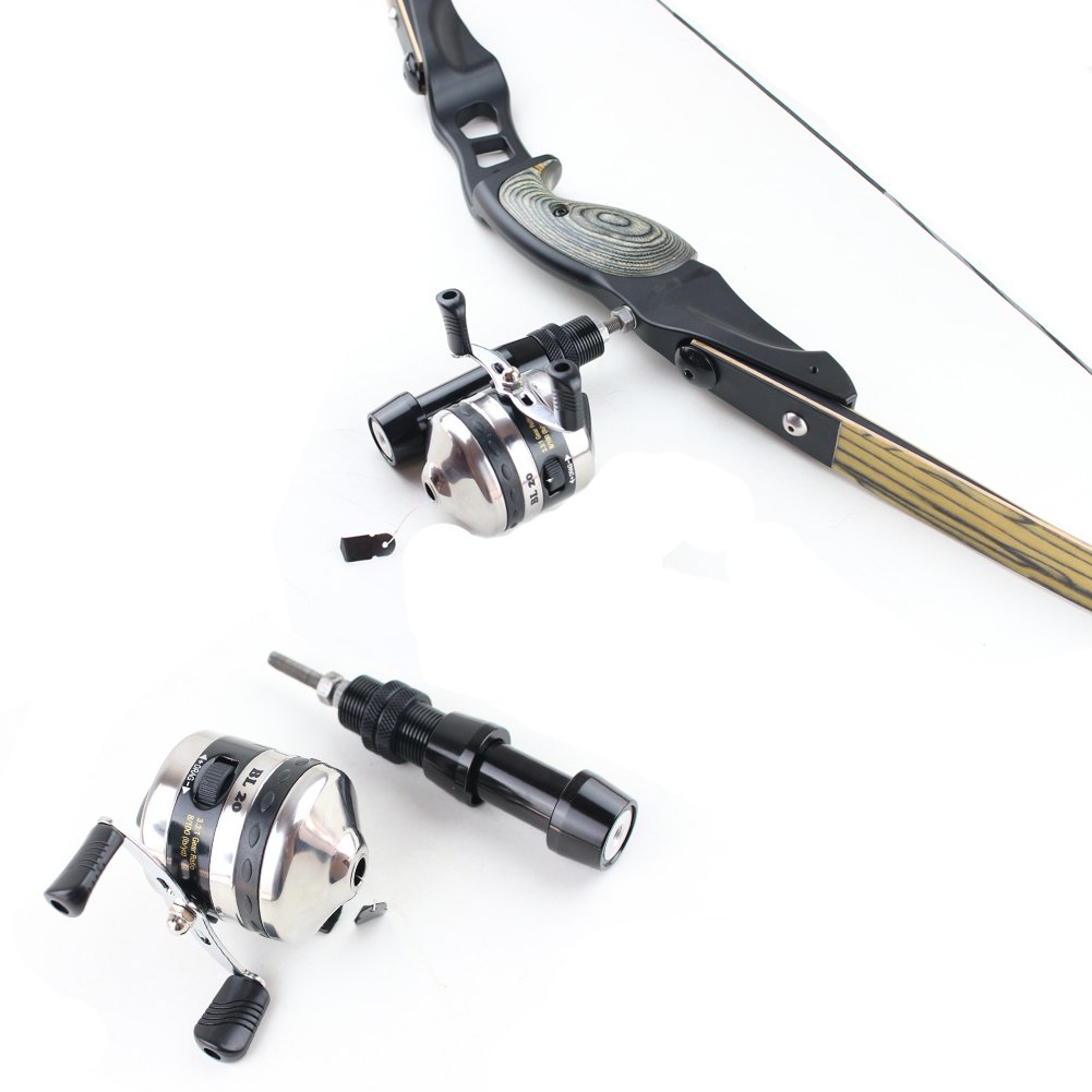 Geelife Bowfishing Reel Set for Compound & Recurve Bow Gear Shooting Fish