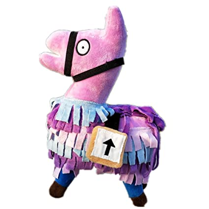 Amazon Com Fortnite Cute Llama Plush Toys Games