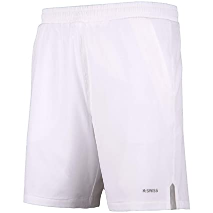 K-Swiss Corto KS TAC Hypercourt Express 8 Pantalon de Tenis, Hombre