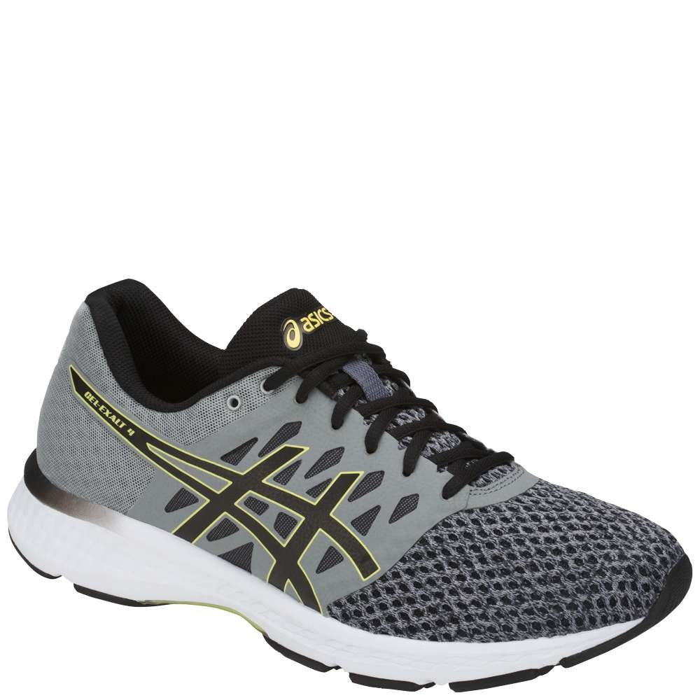 ASICS Men's Gel-Exalt 4 Running Shoe B077XL8Y5Y 9 D(M) US|Stone Grey/Black/Lime