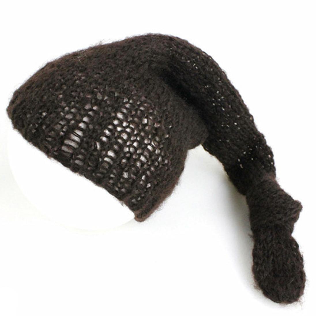 Newborn Photography Hand Knit Posing Props Baby Hats HUHU833 Baby Hats Black