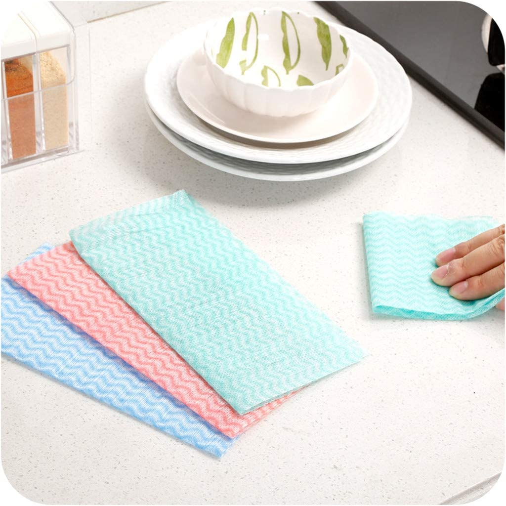 Soft Lint-Free Coconuts Shell Washing Towel Cleaning Cloth Not Contaminated Oil
