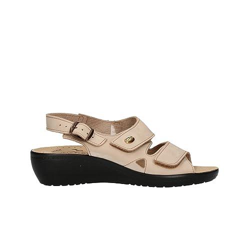 FLY FLOT Sandali scarpe donna beige anatomiche antishock mod 90F2237PNE