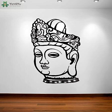 yaoxingfu Buda Etiqueta de Pared extraíble Yoga Studio Vinilo ...