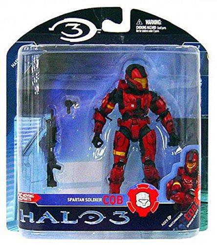 - Halo 3 Series 2 Spartan Soldier CQB Red