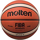Molten Composite Basketball, Orange/Tan, Intermediate Size 6