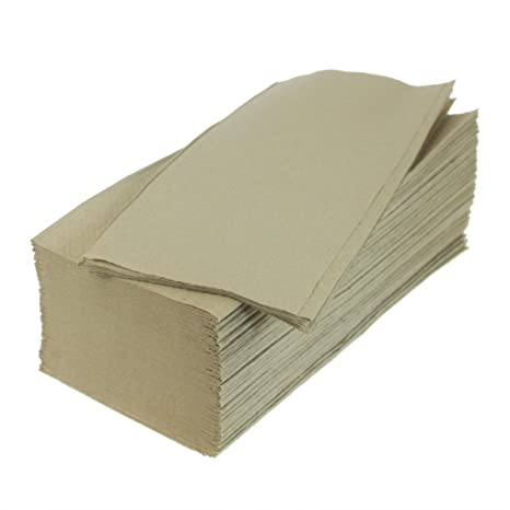 Papel secamanos (500 unidades, 25 x 23 cm, reciclado ZZ veces)